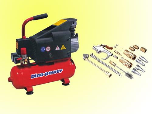 1hp pequeno compresor de aire con pistola sopladora kit - Accesorios para compresores de aire ...