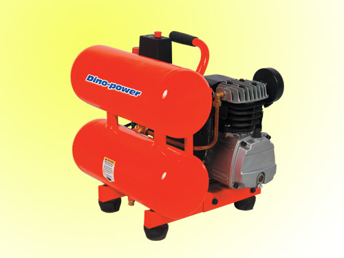 China Air Compressors Twin Tank Electric Air Compressor