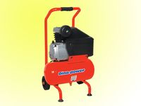 2HP Piston Air Compressor Portable med 12l tank