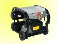 2HP Electric Air Compressor med 24L twin-tank
