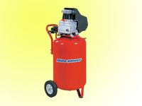 2HP Electric oil-lubricated Air Compressor with 115L Vertical Tank