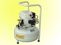 3/4hp 1hp rol-air silencioso compresor
