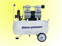 silent oilless compressor